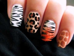 Animal Print Nails | Lindsay Wager